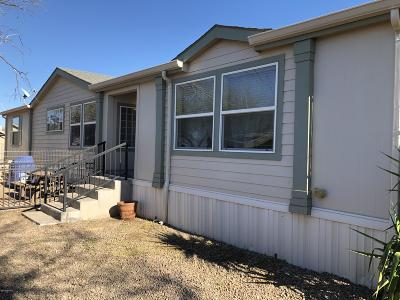 Pima County Manufactured Home For Sale: 13490 N Galleno Avenue