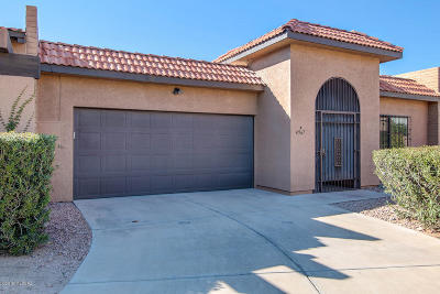 Tucson Townhouse For Sale: 4967 E North Regency Circle