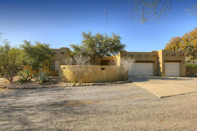 Tucson Single Family Home For Sale: 4814 N Castle Ridge Road