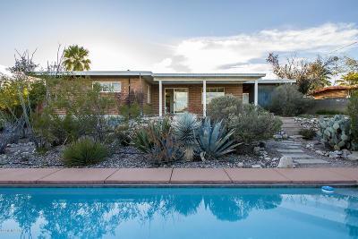 Tucson Single Family Home Active Contingent: 640 N Avenida Alegre