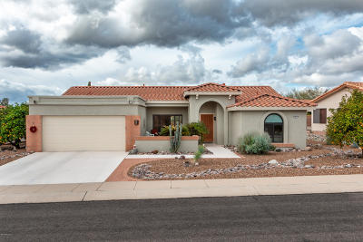 Oro Valley Single Family Home Active Contingent: 14551 N Chalk Creek Drive