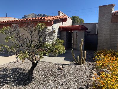 Tucson Townhouse For Sale: 8536 N Calle Tioga
