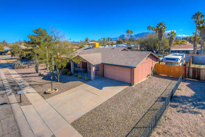 Tucson Single Family Home For Sale: 6280 N Saffron Road