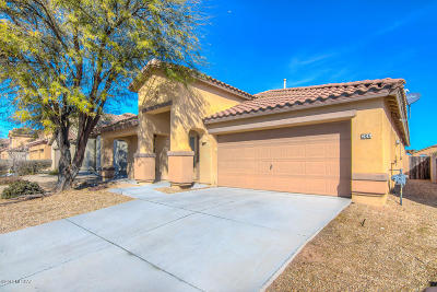 Sahuarita Single Family Home Active Contingent: 206 W Calle Paso Suave