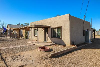 Tucson Single Family Home For Sale: 3444 S 9th Avenue