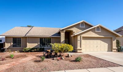 Tucson Single Family Home For Sale: 1820 N Rolling Stone Drive
