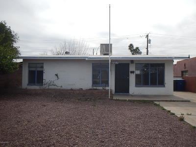 Tucson Single Family Home For Sale: 3656 E Sylvane Street