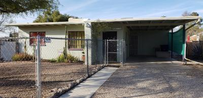 Pima County Single Family Home Active Contingent: 5813 E Fairmount Street