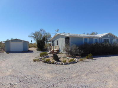 Pima County, Pinal County Manufactured Home For Sale: 11525 W Picture Rocks Road