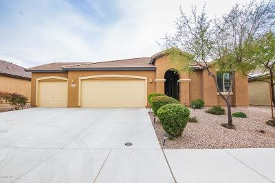 Marana Single Family Home Active Contingent: 11185 W Copper Field Street