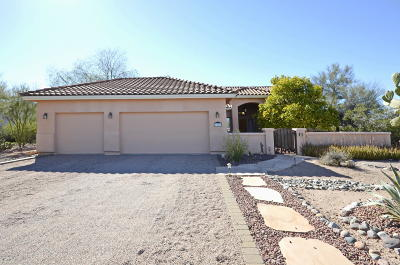 Tucson Single Family Home For Sale: 8220 N Sunset Ranch Loop