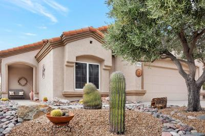 Oro Valley Single Family Home Active Contingent: 13949 N Cirrus Hill Drive