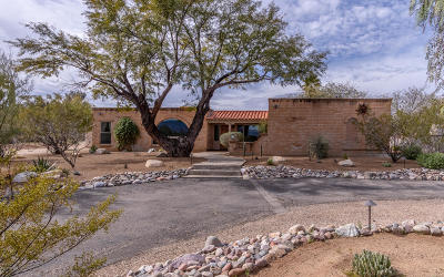 Pima County, Pinal County Single Family Home Active Contingent: 3111 N Tomahawk Trail