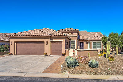 Pima County, Pinal County Single Family Home Active Contingent: 62832 E Ironwood Lane