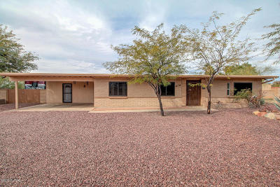 Tucson Single Family Home For Sale: 6861 N Machiavelli Way