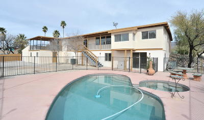 Pima County Single Family Home For Sale: 8250 E Rawhide Trail