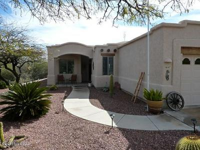 Pima County Single Family Home For Sale: 5897 W Tucson Estates Pkwy