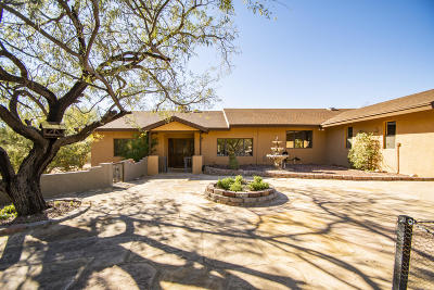 Tucson Single Family Home For Sale: 11600 E Summer Trail