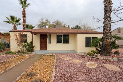 Tucson Single Family Home For Sale: 4625 E Holmes Street