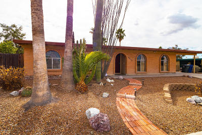 Tucson AZ Single Family Home For Sale: $172,500