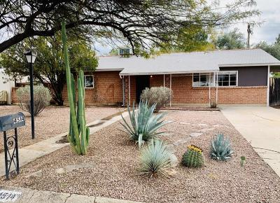 Tucson Single Family Home For Sale: 4514 E Water Street