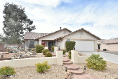 Sierra Vista Single Family Home Active Contingent: 2194 Santa Fe Trail