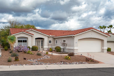 Pima County Single Family Home For Sale: 2235 E Cargondera Canyon Drive