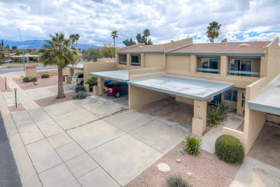 Pima County, Pinal County Townhouse For Sale: 7854 E Rosewood Street