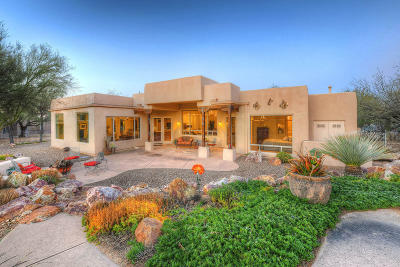 Tucson Single Family Home For Sale: 5060 N Sabino Springs Drive