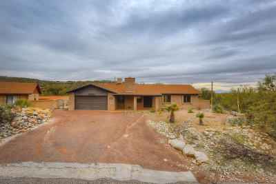 Tucson Single Family Home For Sale: 7260 E Gambel Circle