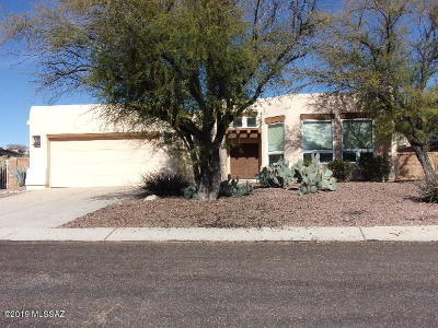 Tucson Single Family Home For Sale: 5425 N Crescent Ridge Drive
