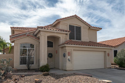 Oro Valley Single Family Home Active Contingent: 12139 N Seasons Loop