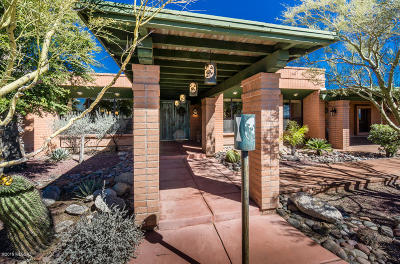 Tucson Single Family Home Active Contingent: 5620 E Paseo Cimarron