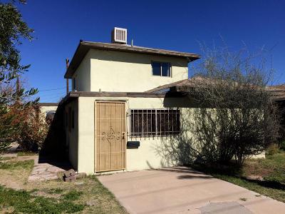 Tucson Single Family Home For Sale: 860 W Alturas Street