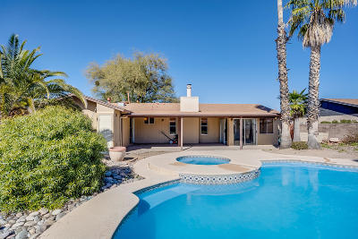 Tucson Single Family Home Active Contingent: 4573 W Annabelle Street