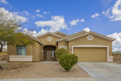 Pima County, Pinal County Single Family Home Active Contingent: 741 E Blue Mesa Place