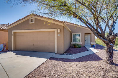 Tucson Single Family Home Active Contingent: 1422 S Dakota Sky Court S