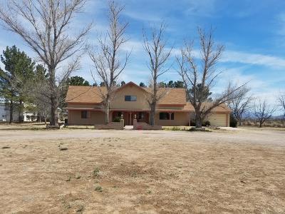 Willcox Single Family Home For Sale: 4460 N Joe Hines Road