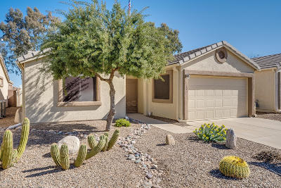 Pima County, Pinal County Single Family Home Active Contingent: 7133 E Maritime Drive