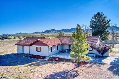 Cochise County Single Family Home For Sale: 4431 N Ingram Road