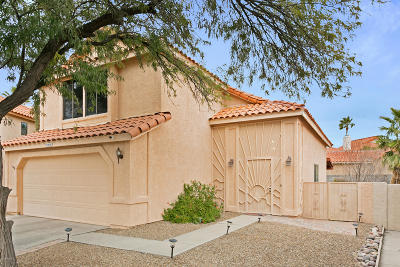 Tucson Single Family Home Active Contingent: 8892 N Lessing Court