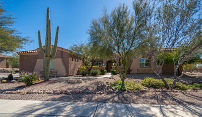 Marana Single Family Home For Sale: 6007 W Sonoran Links Lane