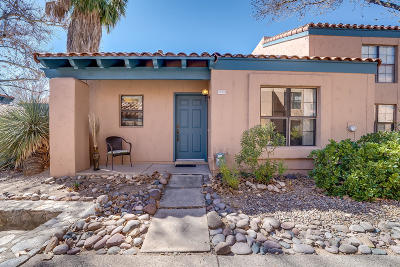 Tucson Townhouse For Sale: 5370 N Calle Del Rocio