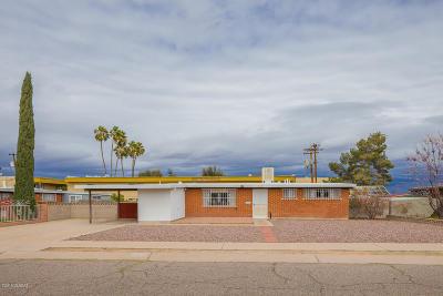 Tucson Single Family Home For Sale: 7445 E Juarez Street