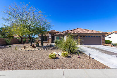 Green Valley Single Family Home Active Contingent: 1083 N Desert Deer Pass