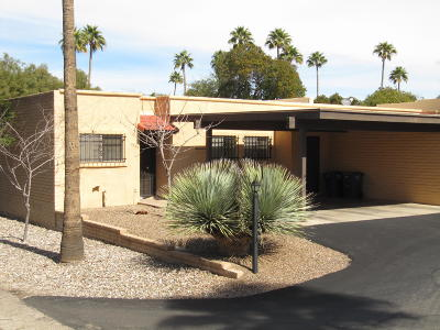 Pima County, Pinal County Townhouse For Sale: 7825 E Chauncey Street