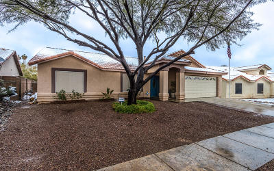 Pima County, Pinal County Single Family Home Active Contingent: 2211 S Quail Hollow Drive