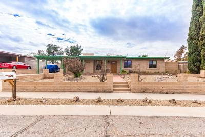 Pima County, Pinal County Single Family Home Active Contingent: 7420 E 45th Street