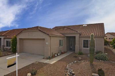 Oro Valley Single Family Home Active Contingent: 2288 E Indian Town Way