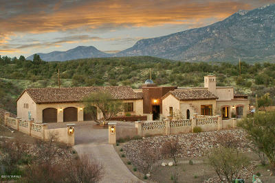 Tucson Single Family Home For Sale: 2617 E Talante Canyon Place